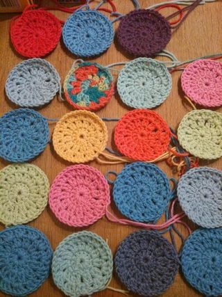 Crochet circles 3