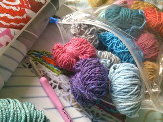 Ripped yarn